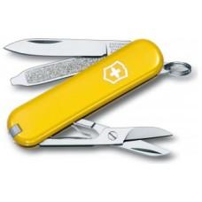 VICTORINOX kapesní nůž CLASSIC SD žlutý